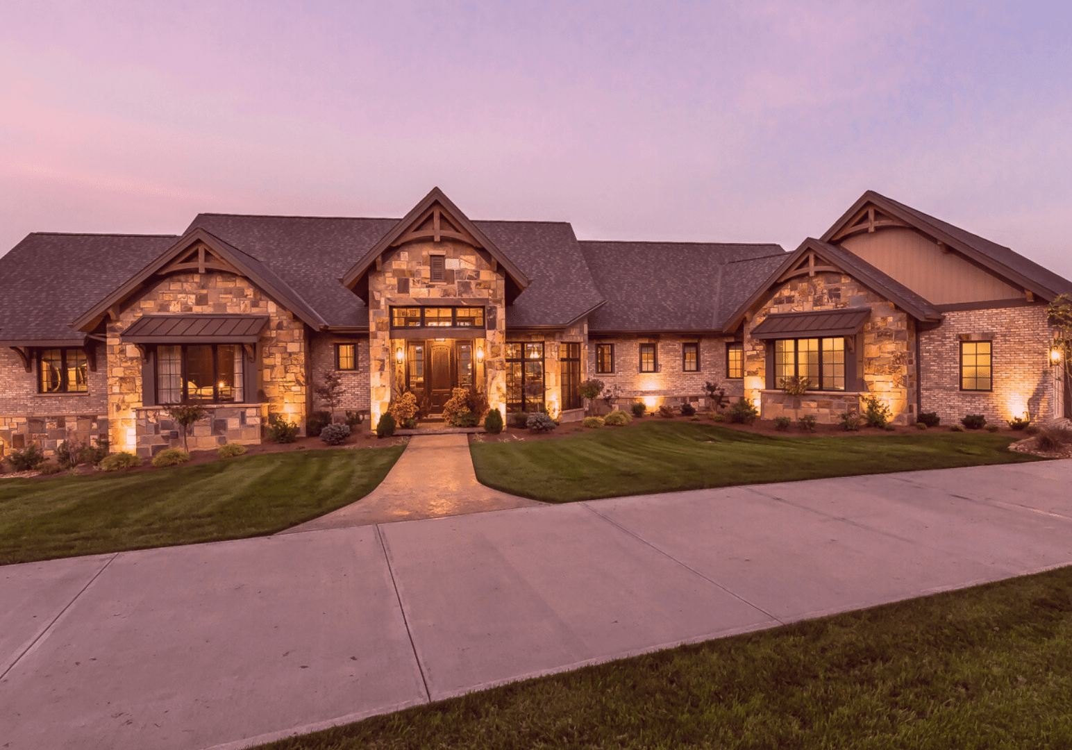 River view homes